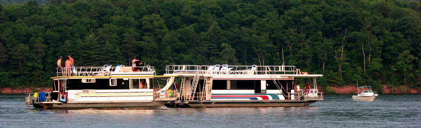 Houseboating Lake Cumberland